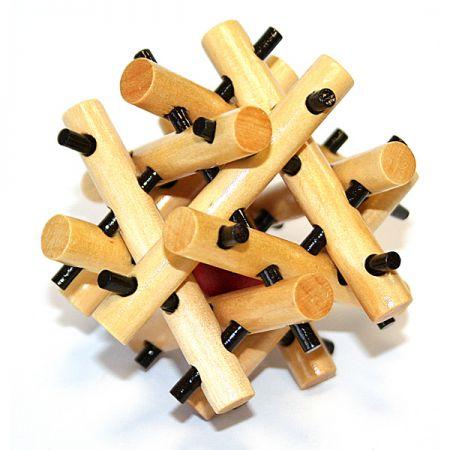 Головоломка деревянная в подарочной коробке