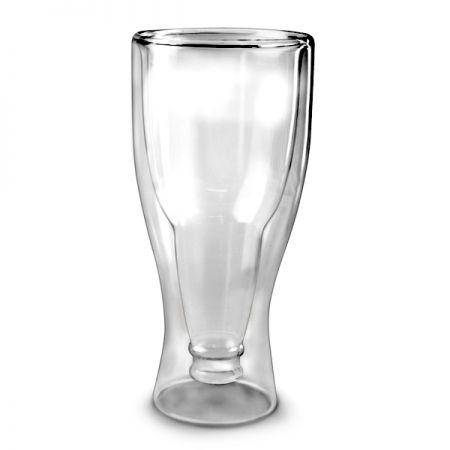 """Стакан """"Бутылка в бокале"""" с двойными стенками"""