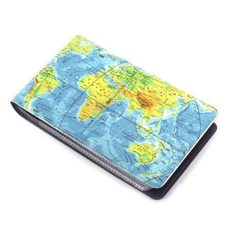 "Визитница ""Карта мира"""
