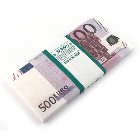 Отрывной блокнот 500 Евро