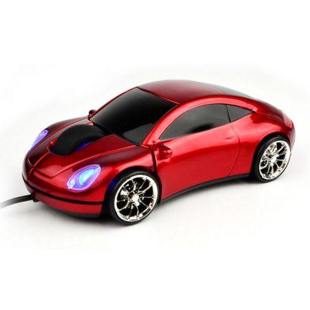 """Мышь """"Lazaro 911"""" оптическая красная машина USB"""