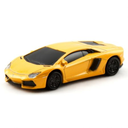 "Флешка машинка ""Lamborghini Aventador"" 8 Гб желтая"