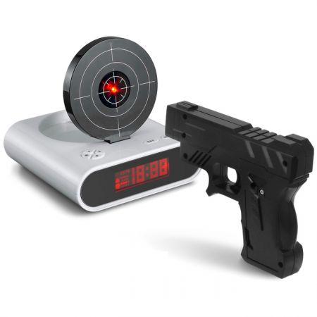 Будильник Мишень с пистолетом