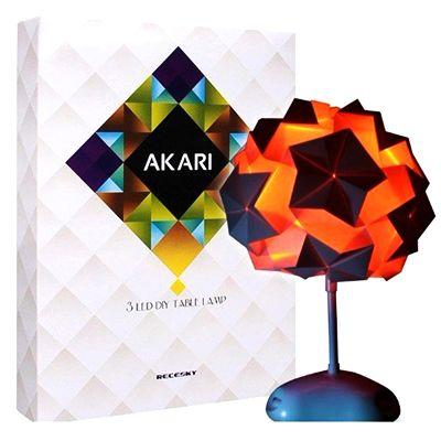 """Лампа конструктор """"Оригами"""" настольная дизайнерская"""