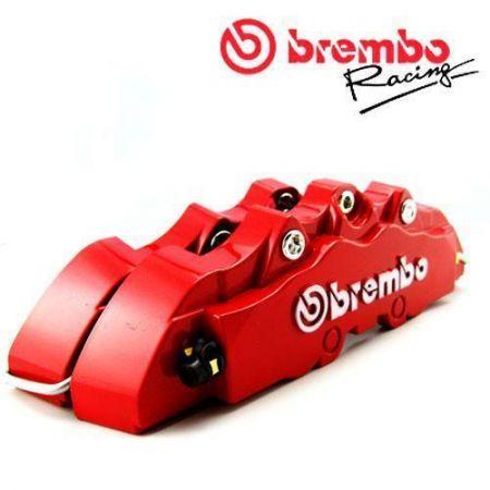 Комплект накладок Brembo на передние суппорта автомобиля красные