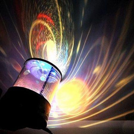 """Ночник - проектор звездного неба """"Планеты"""" с вращением и музыкой (Universe Master)"""