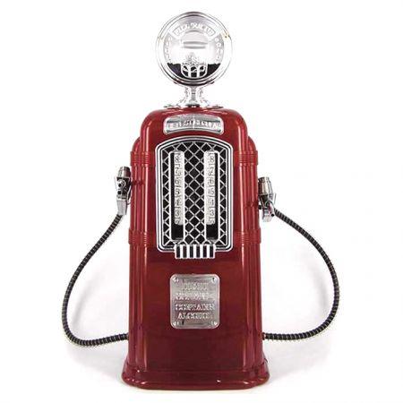 """Диспенсер """"Бензоколонка-заправка"""" ретро дизайн для напитков"""