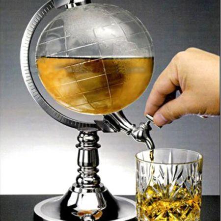 """Бар - диспенсер для напитков """"Глобус"""""""