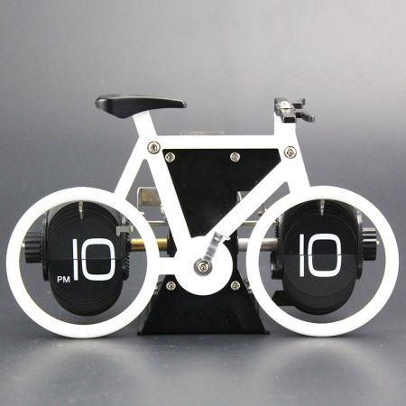 """Часы перекидные дизайнерские """"Велосипед"""""""