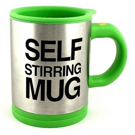 Кружка-мешалка зеленая Self Stirring Mug