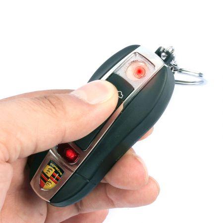 Электронная зажигалка зарядка от USB с логотипом Porsche
