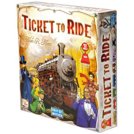"""Настольная игра """"Ticket to Ride"""" (Билет на поезд)"""