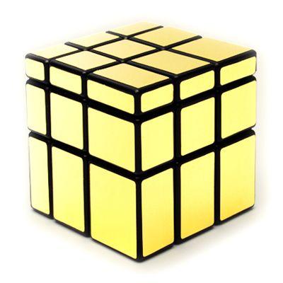 Зеркальный золотой Кубик-Рубика