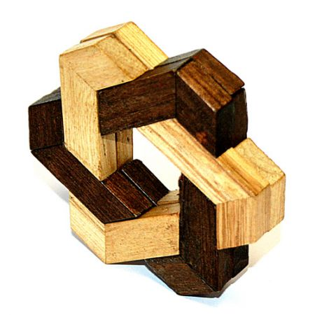 Головоломка деревянная К63 в коробке