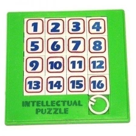 Головоломка Шестьнашки пластик 1010 см зеленые