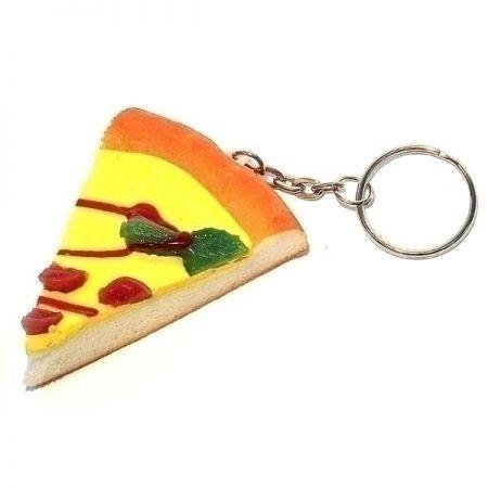 Брелок 71 Пицца пластик