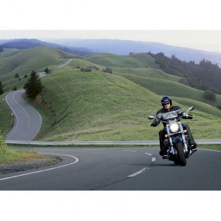Обложка для автодокументов N 12 мотоциклист