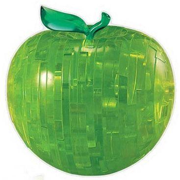 Головоломка 3D Яблоко зеленое