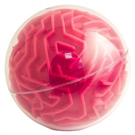 Головоломка лабиринт Сфера красная